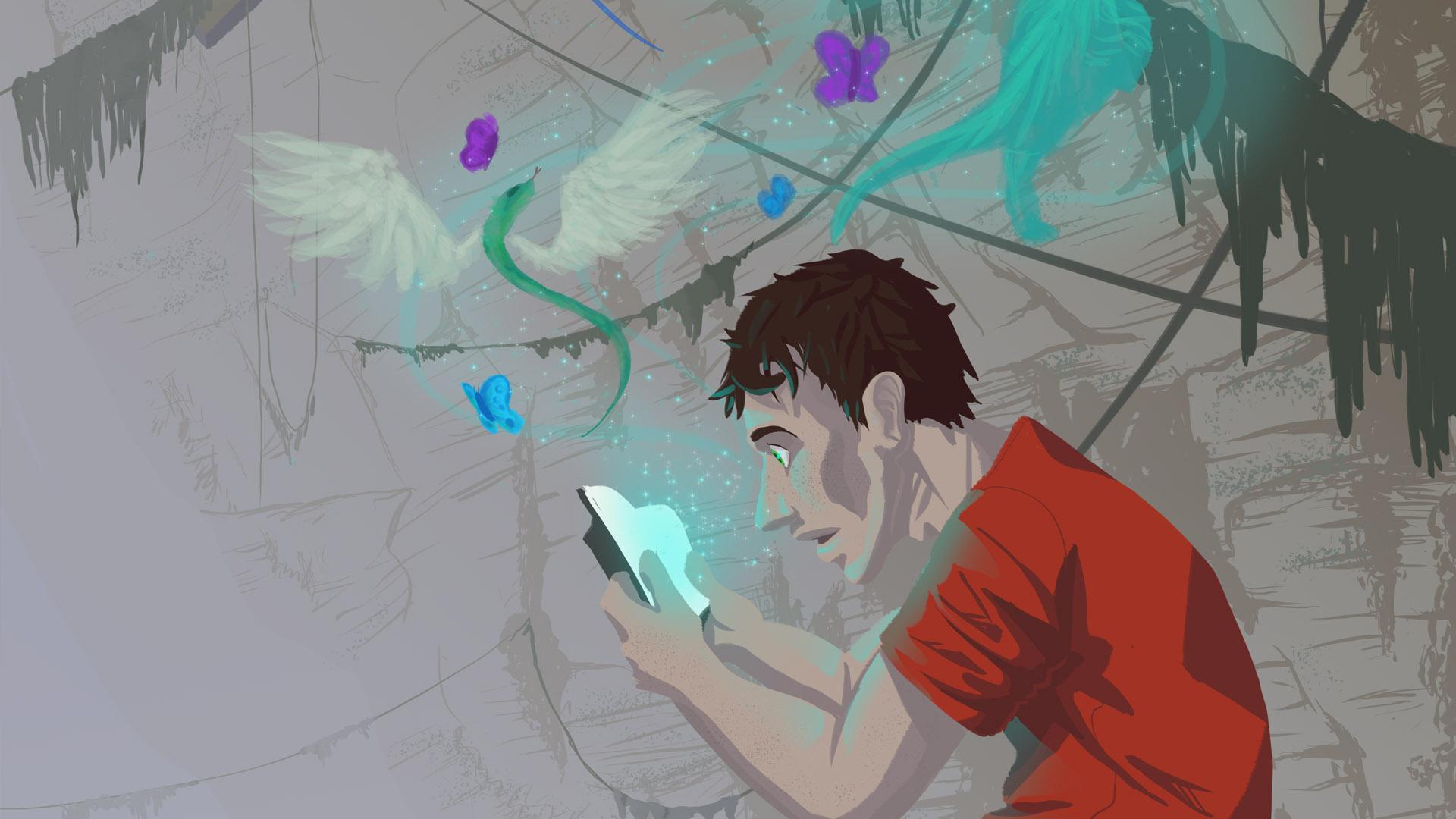 BlueLemonLight Illustration